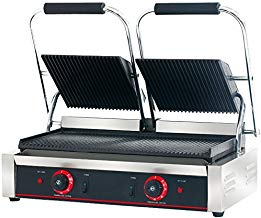 Hakka commercial restaurant grade panini press grill