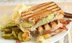Turkey Avocado Panini sandwich Recipe