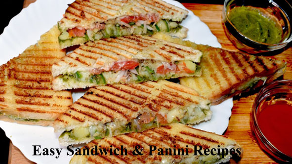 Easy to make sandwich maker recipes