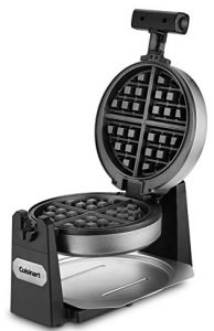 Cuisinart WAF-F10 Maker Waffle Iron, Single, Stainless steel