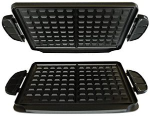 George foreman grill waffle maker plates