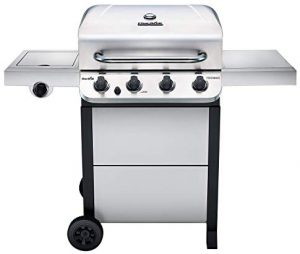 Char-Broil 463377319 Performance 4-Burner Cart Style Liquid Propane Gas Grill