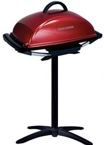 George Foreman 12-Serving Indoor Outdoor Rectangular Electric Grill