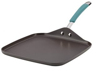 Rachael Ray Cucina Hard Anodized Nonstick Griddle Pan/Flat Grill