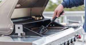How to clean a indoor outdoor grill